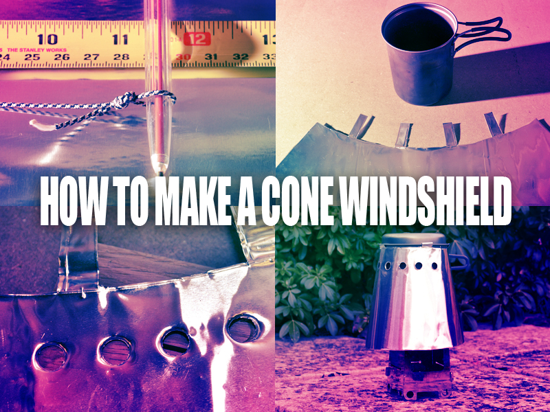 How to make a Clip On Cone Windshield