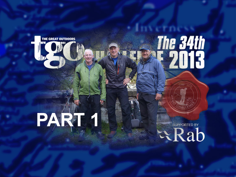 The 34th Rab TGO Challenge 2013 Review – Part 1