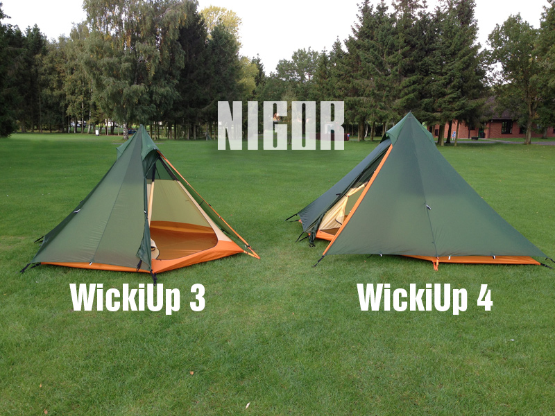 The Nigor WickiUp 3 and WickiUp 4 – Video Exclusive