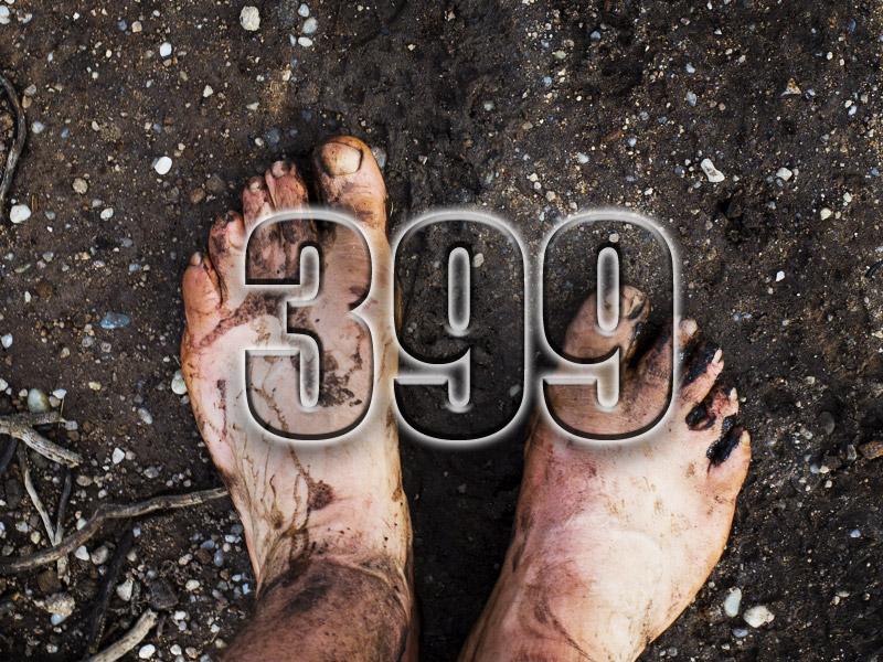 No 399 – LEJOG – Barefoot