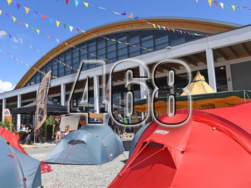 No 468 – Friedrichshafen 2018 Outdoor Trade Fair