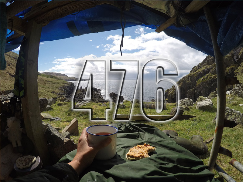 No 476 – 40 Days and 40 nights solo on an Island