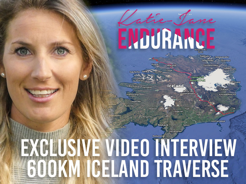 Exclusive Video Interview – 600km Iceland Traverse