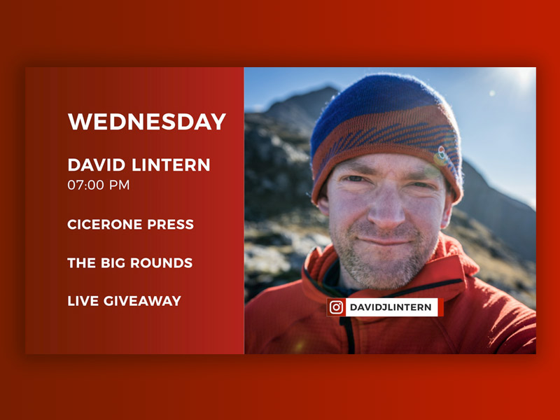 Live Stream Author David Lintern – 15th April