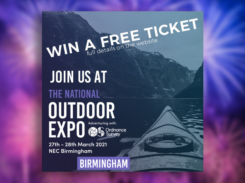 Win a free ticket to the National Outdoor Expo 2021