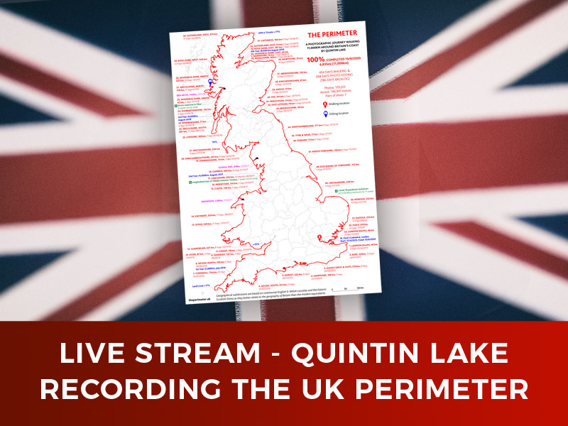 Live Stream – The Perimeter – The UK Coastline Recorded