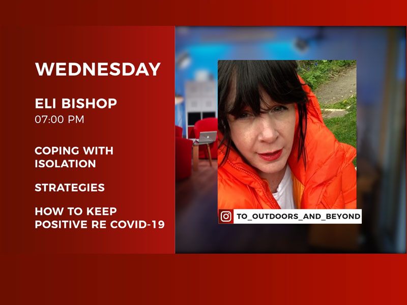 Live Stream Interview with Eli Bishop – 8th April 2020