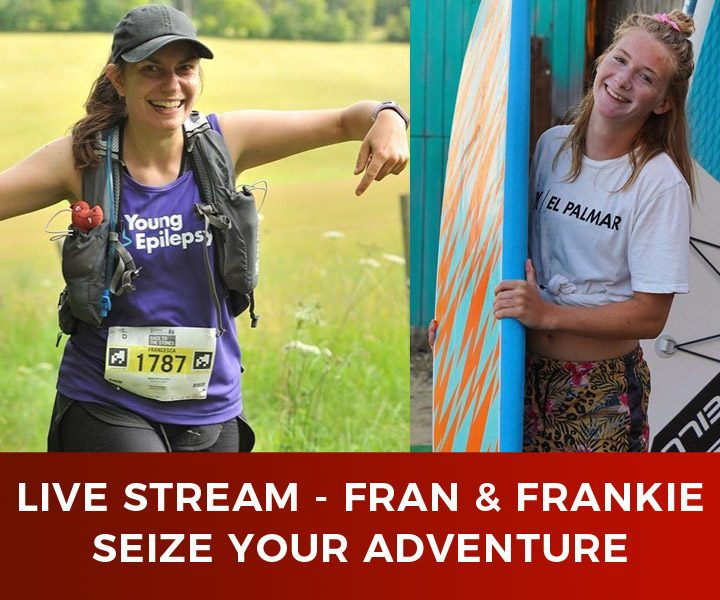 Live Stream – Fran Turauskis – Seize Your Adventure