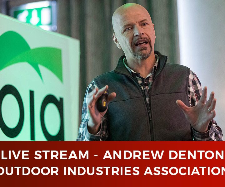 Live Stream – Outdoor Industries Association – Andrew Denton